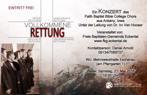 Flyer Konzert Eckental